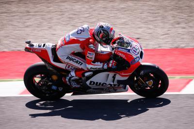 FP2™ MotoGP: Dovizioso gibt in Mugello Freitags-Takt an