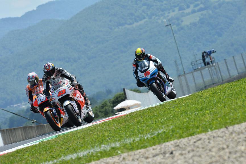 Miller, Pedrosa, De Angelis, CWM LCR Honda, Repsol Honda Team, E-Motion IodaRacing Team