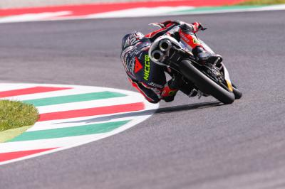 Italian riders set pace on first day of Moto3™ Practice