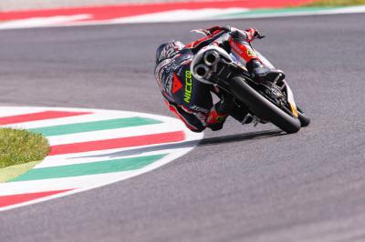 Italiener machen am Freitag die Moto3™-Pace von Mugello