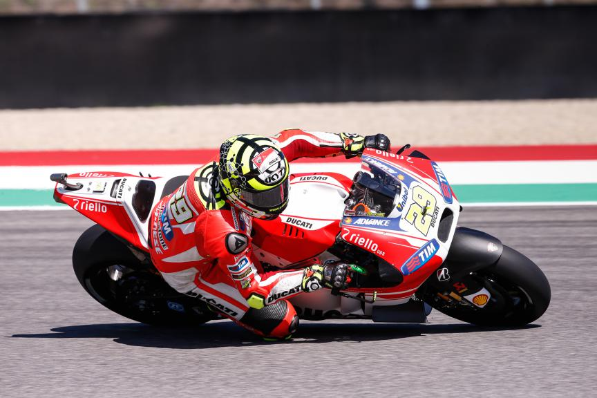 Andrea Iannone, Ducati Team, Mugello FP2