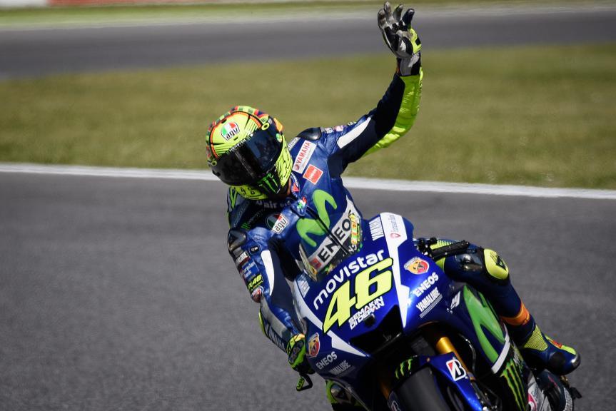 Valentino Rossi, Movistar Yamaha MotoGP, Mugello FP2