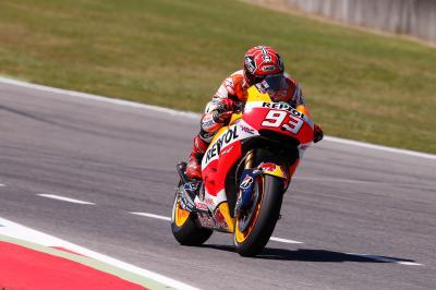 Márquez: 'Hay que intentar mejorar el carácter del motor'