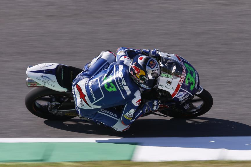 Enea Bastianini, Gresini Racing Team Moto3, Mugello FP1