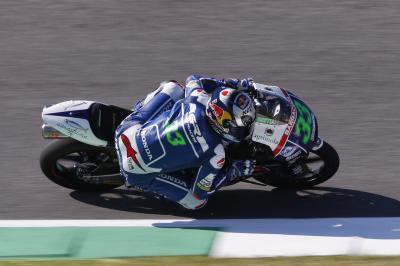 Bastianini, el más rápido de la FP1 de Moto3™ en Mugello