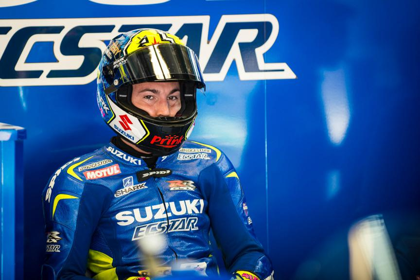 Aleix Espargaro, Team Suzuki Ecstar, Mugello FP2 © 2015 Scott Jones, PHOTO.GP