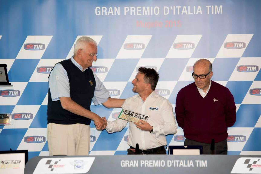 30th Anniversary of the Team Italia, FMI Press Conference