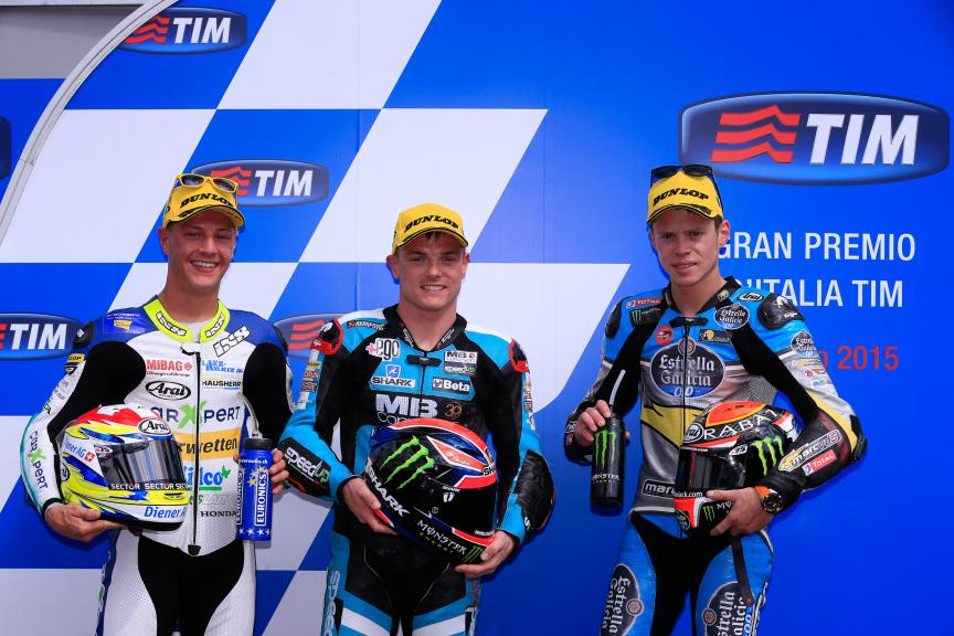 Aegerter, Lowes, Rabat, Technomag Racing Interwetten, Speed Up Racing, EG 0,0 Marc VDS, Mugello QP