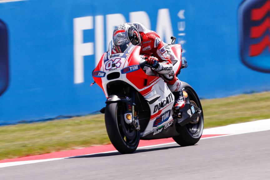 Andrea Iannone, Ducati Team, Mugello FP3