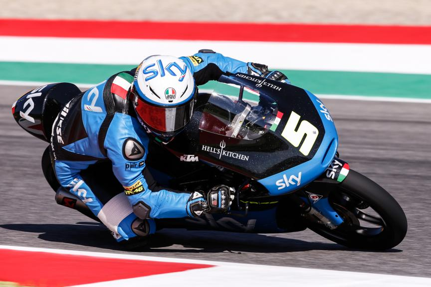 Romano Fenati, SKY Racing Team VR46, Mugello QP