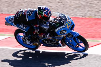 Quartararo storms to the top in Moto3™ FP3
