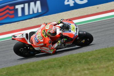 10% off Ducati merchandise to celebrate Iannone's home pole