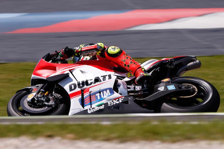 Andrea Iannone, Ducati Team, Mugello Q2