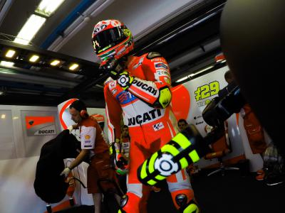 The big question: Can Iannone keep that pace over 23-laps?