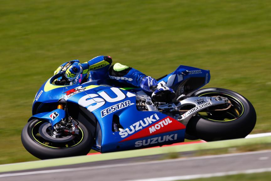 Aleix Espargaro, Team Suzuki Ecstar, Mugello Q1