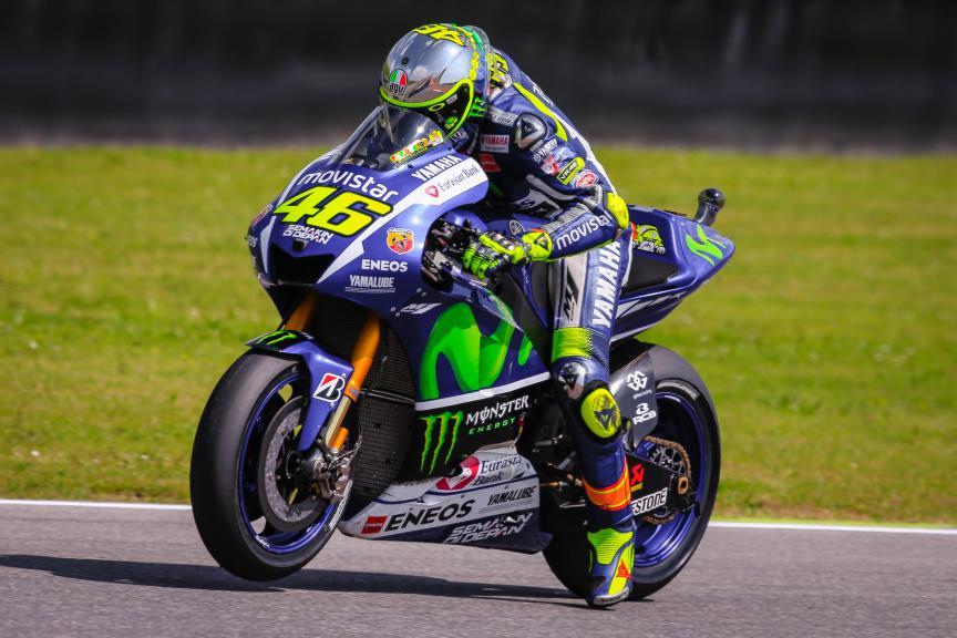 Valentino Rossi, Movistar Yamaha MotoGP, Mugello Q2