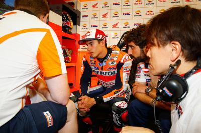 Marquez: 'We can't be happy about today'