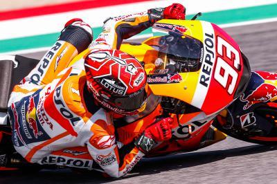 Márquez disputará la Q1 en Mugello
