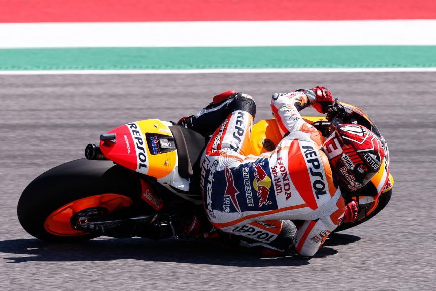Marc Marquez, Repsol Honda Team, Mugello Q1