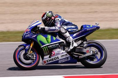 Lorenzo, primero tras la FP3 de MotoGP™