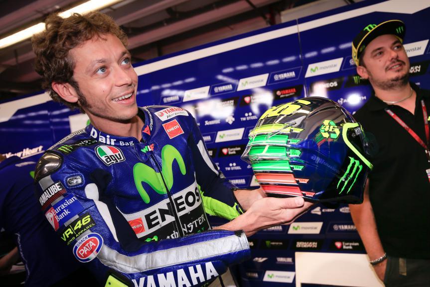Rossi Special helmet Mugello