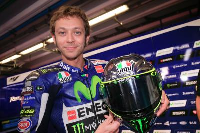 "Rossi: ""My lap time was not so bad, but it wasn't enough"""