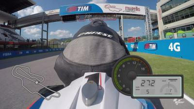 GoPro™ OnBoard lap of the Autodromo del Mugello