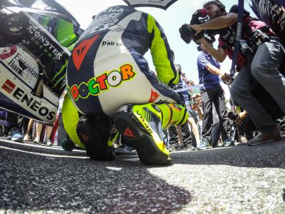 Rossi: 'To be on the podium is always magical'