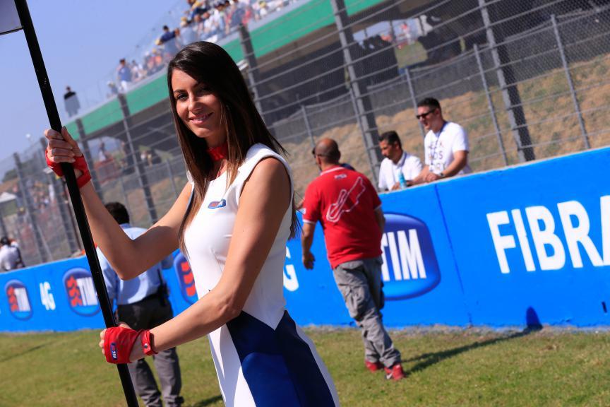 Paddock Girl Gran Premio d'Italia TIM