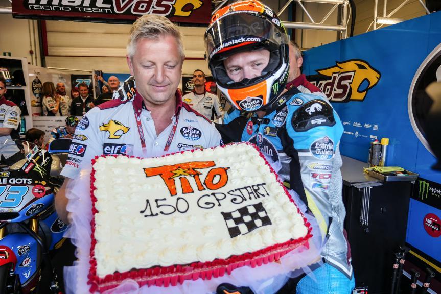 Tito Rabat, 150 GP Start, EG 0,0 Marc VDS