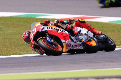 Marquez: 'I was on the limit'
