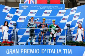 Kent, Oliveira, Fenati, Leopard Racing, Red Bull KTM Ajo, Sky Racing Team VR46, Mugello RACE