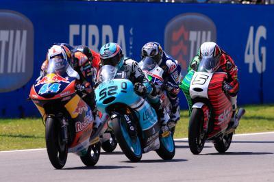 Oliveira gewinnt den Mugello-Thriller der Moto3™ Klasse