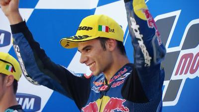 Oliveira makes history as first Portuguese GP winner