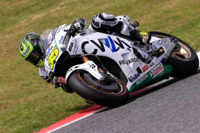 Crutchlow: 'The front tyre failed me'