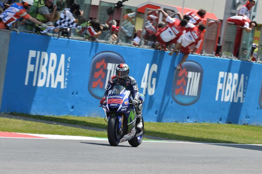 Jorge Lorenzo, Movistar Yamaha MotoGP, Mugello RACE