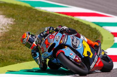 Rabat, Lowes & Zarco on top in Moto2™ Warm Up