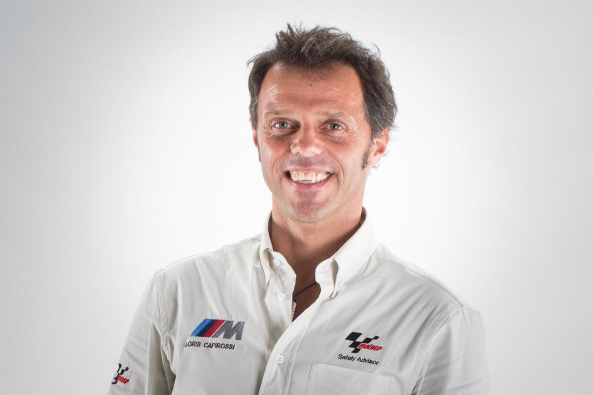 Dorna Safety Officer Loris Capirossi
