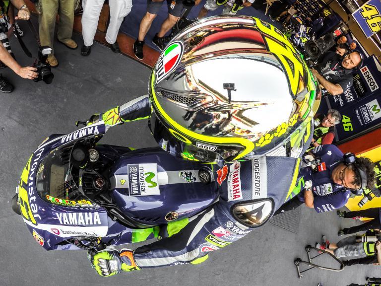 Rossi's Mugello helmet