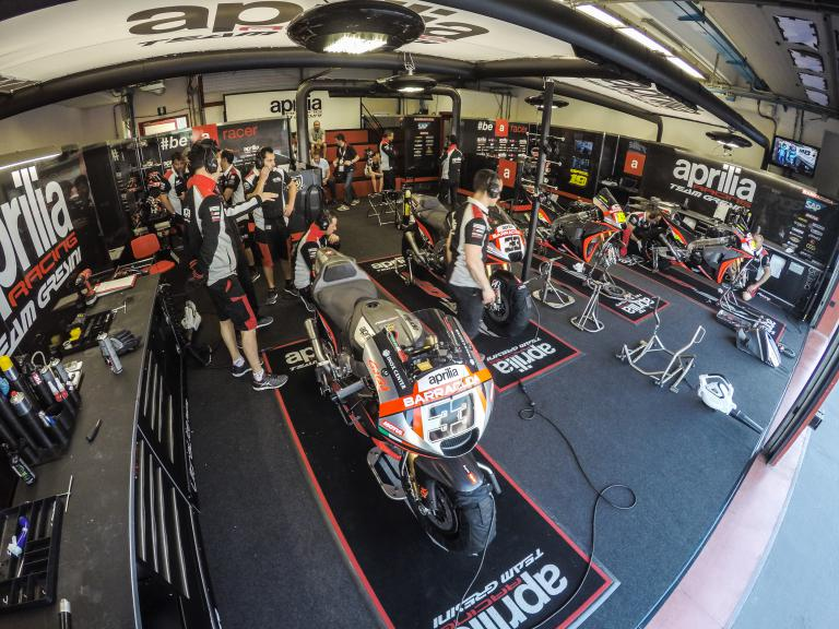 Aprilia Racing Team Gresini garage