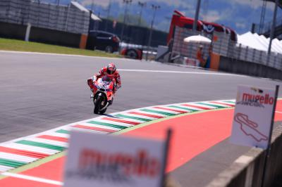 Factory MotoGP™ riders remain in Mugello for Michelin test