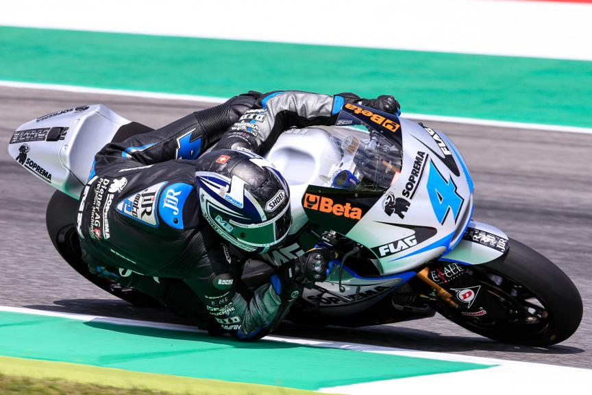 Randy Krummenacher, JIR Moto2, Mugello Race