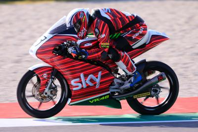 """Fenati: """"It was really exciting to be on the podium"""""""