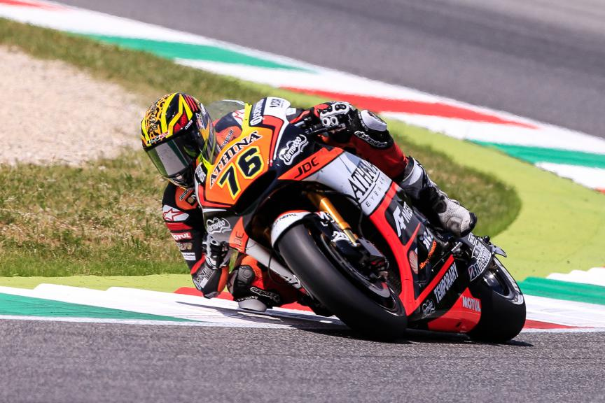 Loris Baz, Forward Racing, Mugello Race