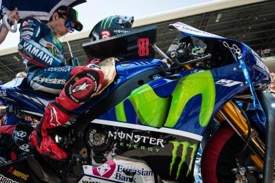 Record-breaking Lorenzo on par with Agostini