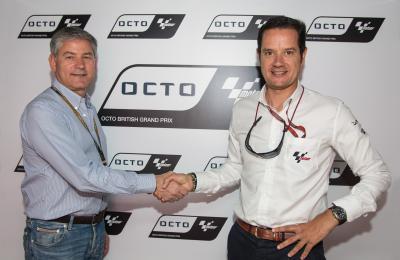 オクト、イギリスGPのタイトルスポンサーに決定