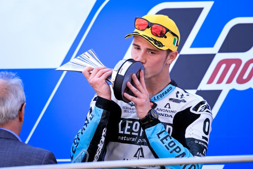 Danny Kent, Leopard Racing, ITA Race