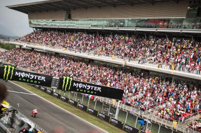 ¿Quién ha repetido podio de Moto2™ en Barcelona?