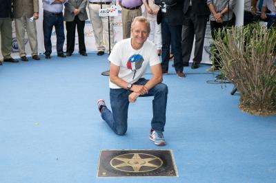 La stella di Schwantz sulla Walk of Fame di Jerez