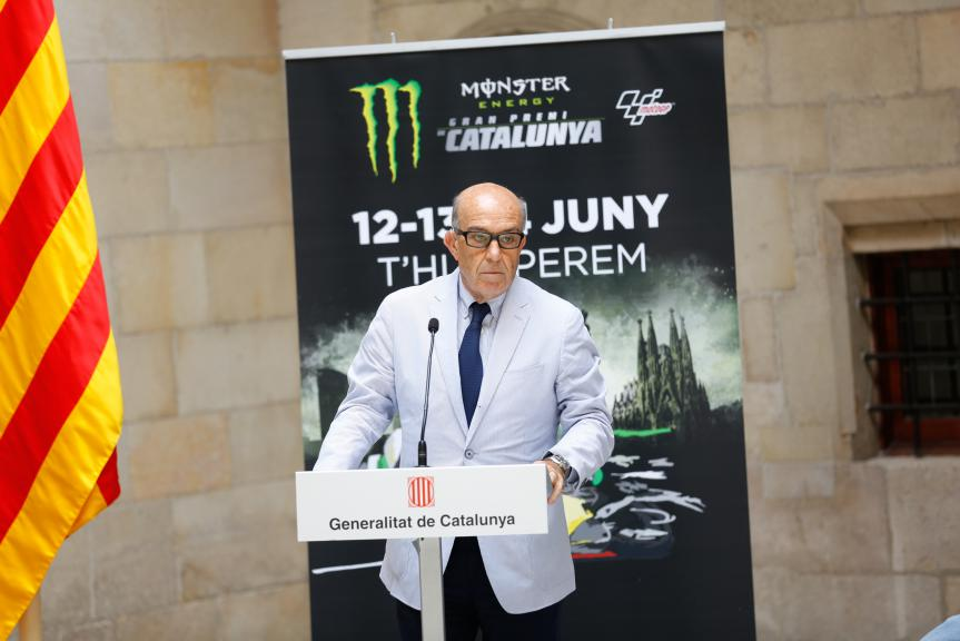 Dorna CEO Carmelo Ezpeleta, Gran Premi Monster Energy de Catalunya Presentation